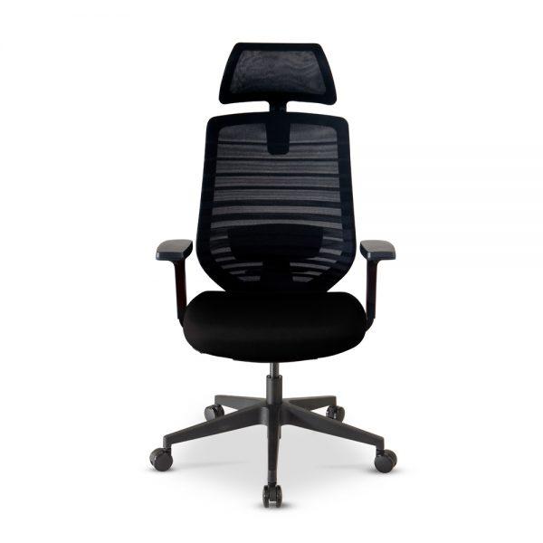 Kursi Kantor Highpoint ESP003A BLACK (1)