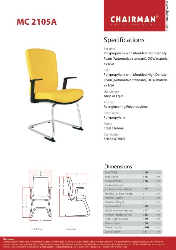 SPEK MC 2105 A