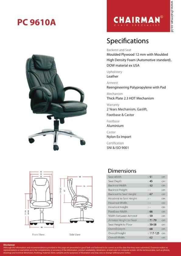 SPEK PC 9610 A