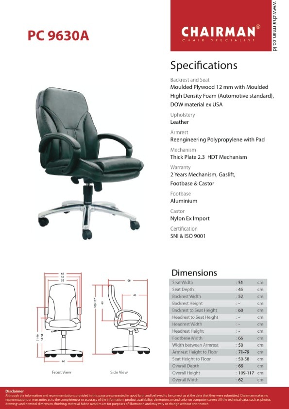 SPEK PC 9630 A